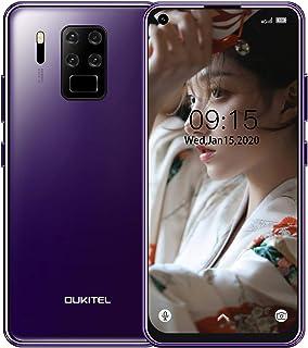 スマホ本体 OUKITEL C18 Pro SIMフリースマートフォン本体 16MP + 8MP + 5MP + 2MP広角カメラ 6.55 インチHD +画面 携帯電話 4000mAhバッテリー Helio P25プロセッサー4GB + 64...