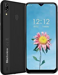 Blackview A60 Pro スマートフォン SIMフリースマートフォン本体 4Gスマホ本体 Android9.0 6.08インチ 92%画面占有率 5MP+8MP 4080mAh 3GB+16GB 技適認証済み 携帯電話 一年間保証付き ゲーム不向き 楽天UN-LIMIT対応不可 ブラック