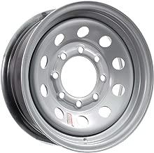 Equipment Trailer Rim Wheel 16 in. 16X6 8 Hole Bolt Lug Gray Grey Modular Holes