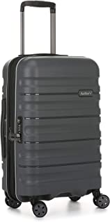 Antler 4227123019 Juno 2 4W Cabin Roller Case Carry-Ons (Hardside), Charcoal, 56 cm