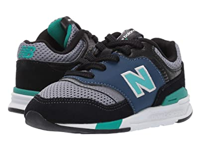 New Balance Kids 997H (Infant/Toddler) (Black/Verdite) Boys Shoes