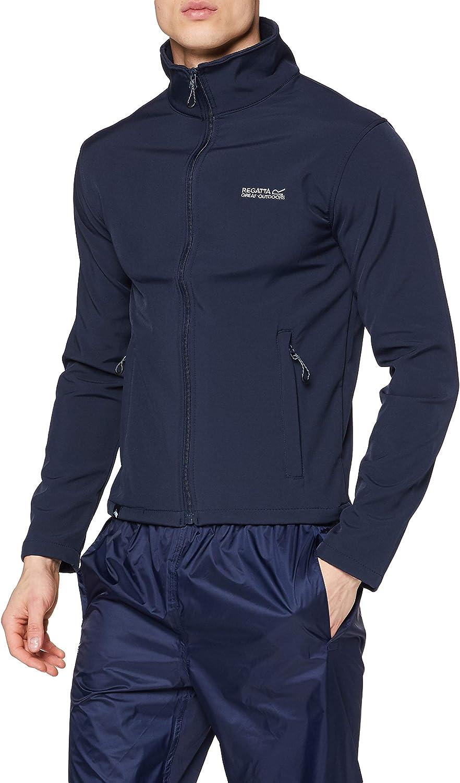 Regatta Men's Cera III All stores are sold Jacket Softshell Neck Funnel Direct sale of manufacturer