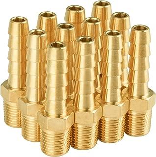 SUNGATOR 12-Pack Brass Hose Fitting,1/8