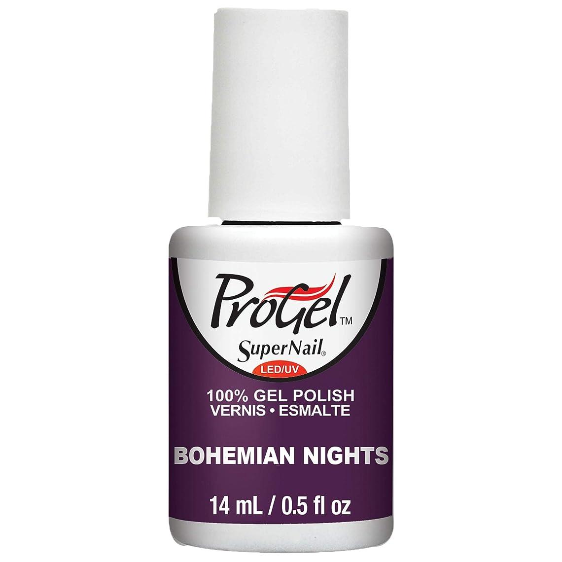 ソフトウェア放棄急流SuperNail ProGel Gel Polish - Bohemian Nights - 0.5oz / 14ml