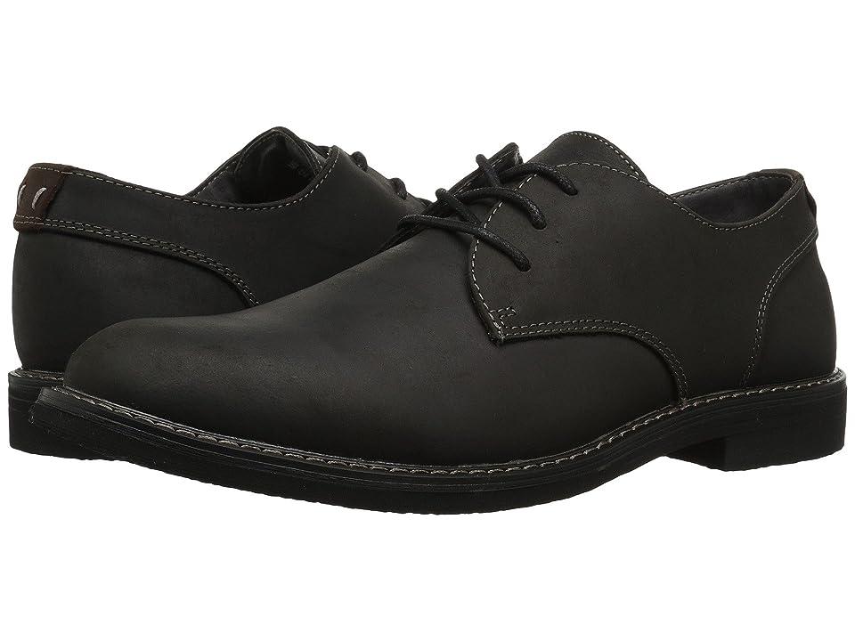 Nunn Bush Linwood Plain Toe Oxford (Black Leather) Men