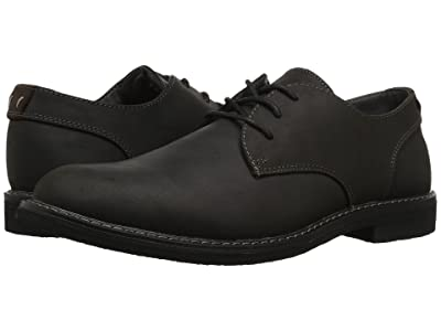 Nunn Bush Linwood Plain Toe Oxford (Black Leather) Men