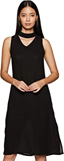 Amazon Brand - Symbol Crepe A-Line Dress