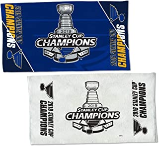 WinCraft St. Louis Blues 2019 NHL Stanley Cup Champions 2 Sided Locker Room Towel