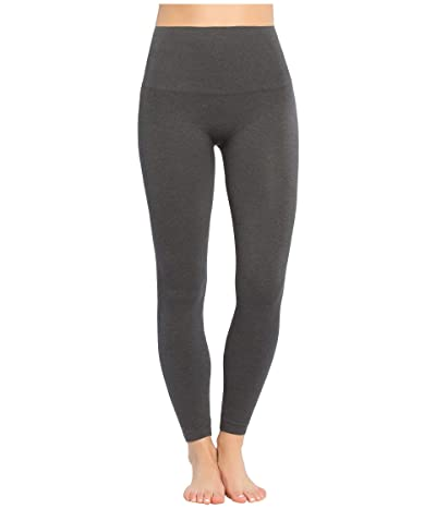 Spanx Look At Me Now Seamless Leggings (Heather Charcoal) Women