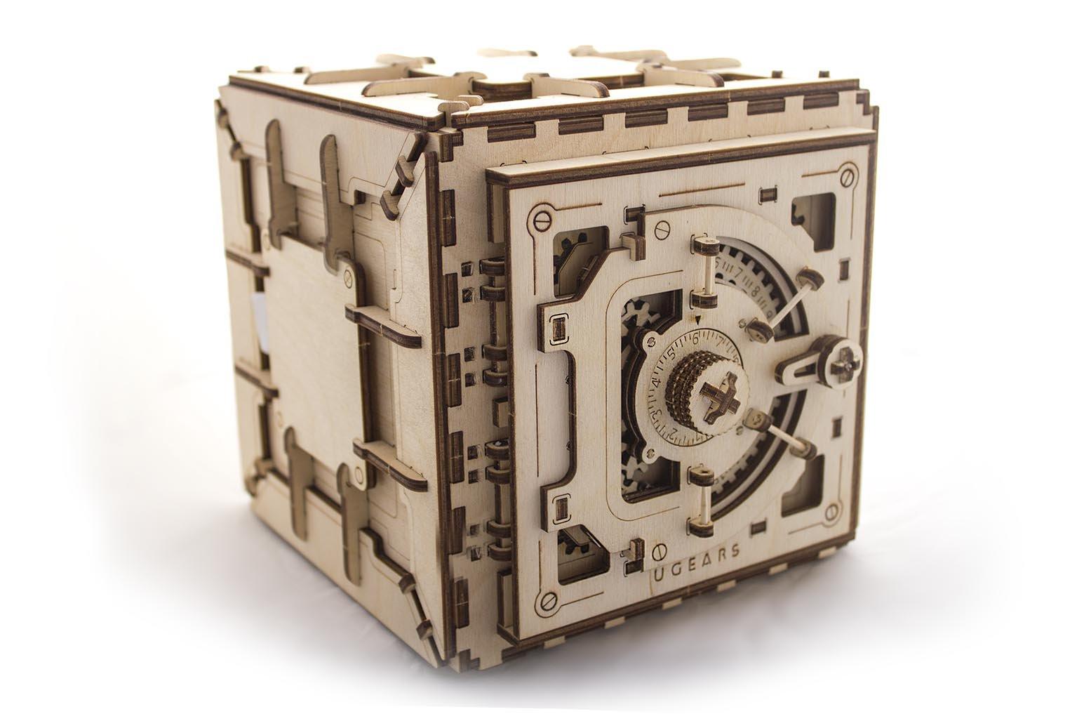 Model Safe Wooden Puzzle Mechanical