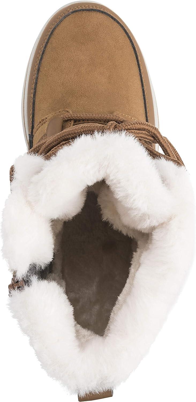 Polar Boot Donna Foderato in Pile La Neve Inverno Impermeabile Escursioni A Piedi Durevole Stivaletti