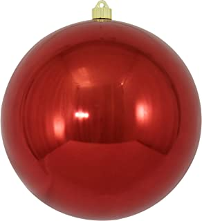 Christmas by Krebs Giant Commercial Shatterproof UV Resistant Plastic Christmas Ball Ornament Wedding Party Event Decor, 10