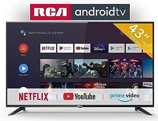 RCA RS43F2 Android TV (43 inch Full HD Smart TV met Google Assistant), ingebouwde Chromecast, HDMI + USB, Triple Tuner, 60Hz