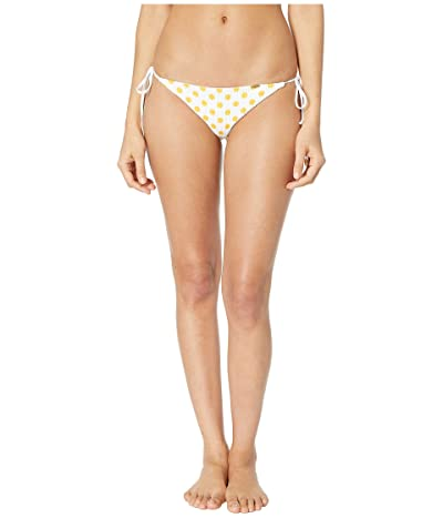 Luli Fama Itsy Bitsy Seamless Ruched Back Brazilian Tie side (Yellow) Women