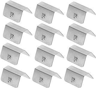 4 x Befestigungsclips Befestigung Clip Klammer Montage Clips für Windabweiser