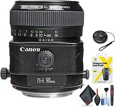 Canon TS-E 90mm f/2.8 Tilt-Shift Lens for Canon EF Mount + Accessories (International Model)