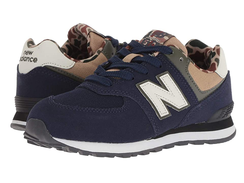 New Balance Kids PC574v1 (Little Kid) (Pigment/Hemp) Boys Shoes