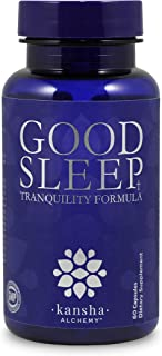 Natural Sleep Aid for Adults with Magnesium, Melatonin, L-Theanine and GABA with an Advanced Blend of Chinese Root Powders for a Deeper More Fulfilling Sleep, 60 Caps (1 Bottle)