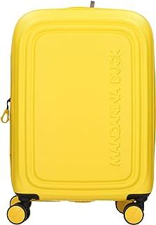 Mandarina Duck Logoduck + S Maleta con 4 ruedas amarillo