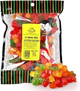 Li Hing Mui Gummy Bears 18 Oz