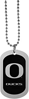 NCAA Oregon Ducks Chrome Tag Necklace, 26