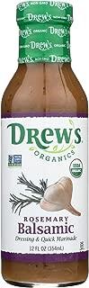 Drew's Organics Organic Dressing and Quick Marinade - Rosemary Balsamic - 12 Fl. oz. - Case of 6
