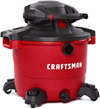 CRAFTSMAN CMXEVBE17607 16 gallon 6.5 Peak Hp Wet/Dry Vac with Detachable Leaf Blower,..
