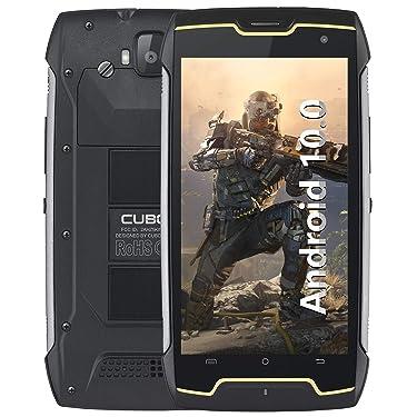 Rugged Phone CUBOT Kingkong(2020), Unlocked Smartphone, Android 10, 4400mAh Battery, IP68 Waterproof, Shockproof, 5 Inch Display, Dual Sim, Face-ID, Black