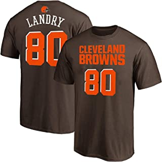 Jarvis Landry Cleveland Browns NFL Youth 8-20 Brown Mainliner Player Name & Number T-Shirt