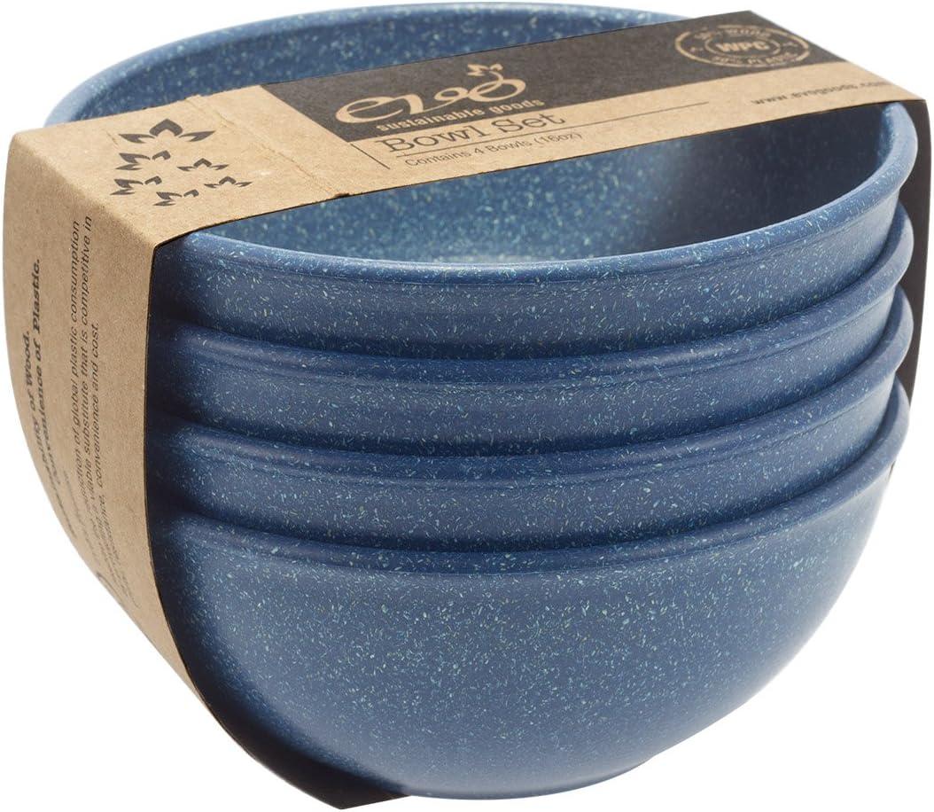 EVO Sustainable Goods 16 Sale SALE% OFF Bowl oz. Blue Credence Set
