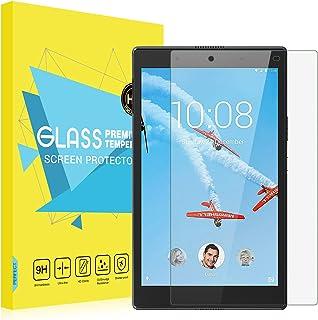 ATiC Lenovo Tab 4 8 保護フィルム Lenovo Tab 4 8インチ タブレット用強化ガラス液晶保護フィルム 業界最高硬度9H 耐衝撃 反射防止 指紋防止 高透過率 高透明 (二枚)