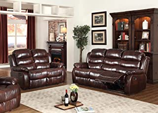 Best burgundy sofa set Reviews