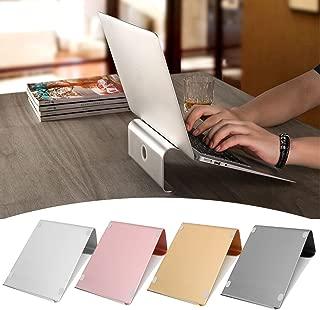 "Caveen Aluminium Laptop Stand Notebook Desktop Mount Stand 11"" - 17"" Tablet Stand Holder Computer Bracket Cooling Base For MacBook Gold"