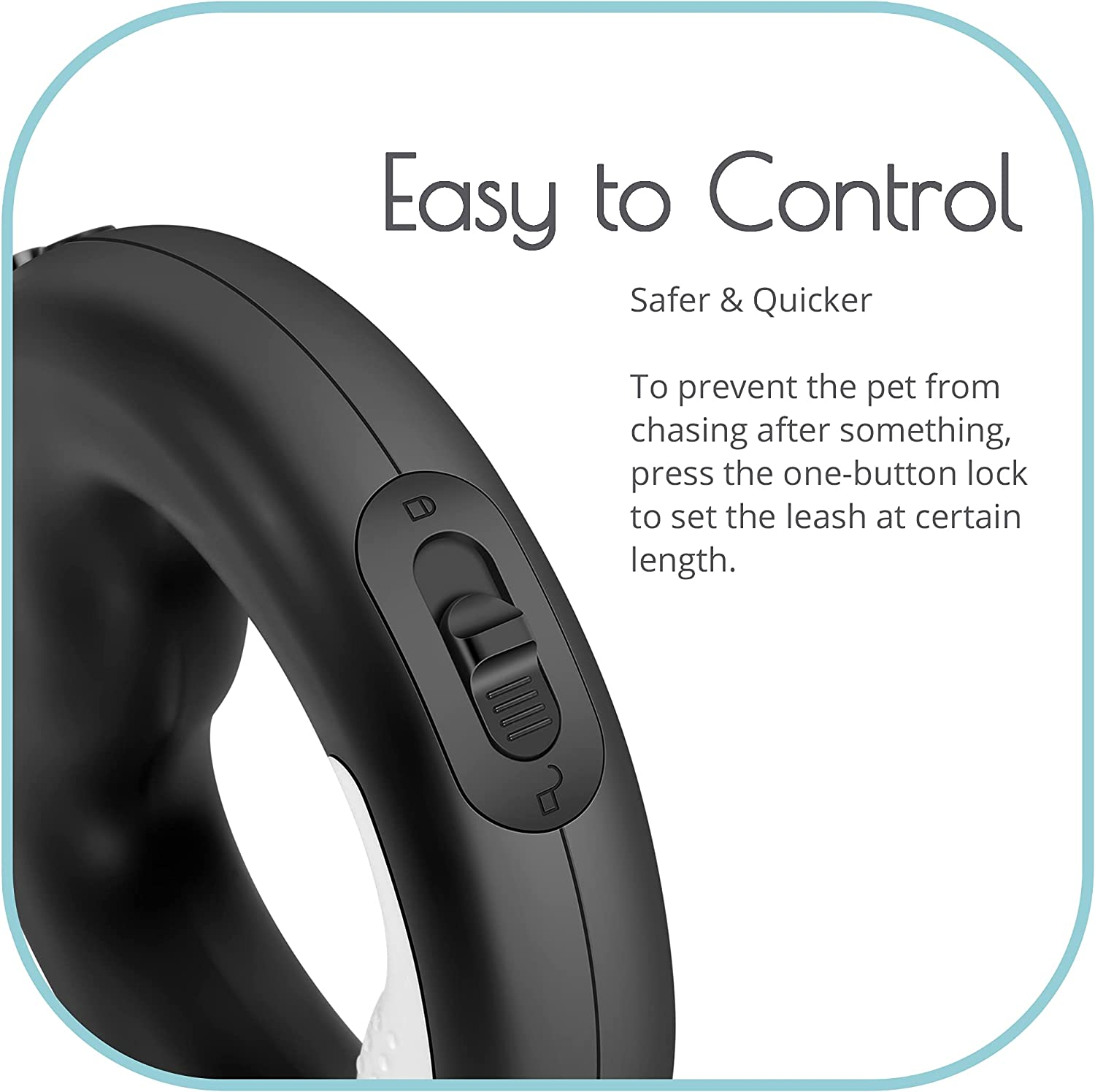 Retractable Wearable Dog Leash with Bright LED Light Furiends ...