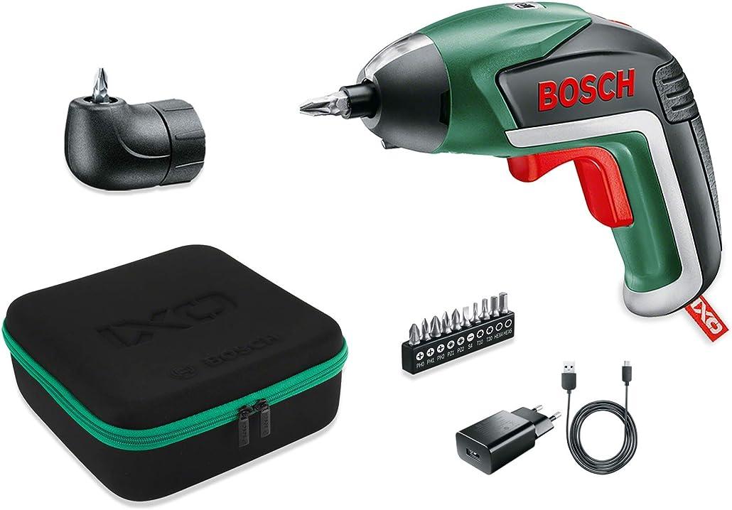Cacciavite elettrico con batteria al litio 3.6 v bosch home and garden ixo v - versione medium 06039A8001