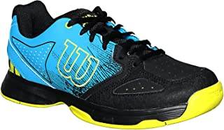 Wilson WRS323490 Stroke Junior Tennis Shoes, 5.5 US (Blue)