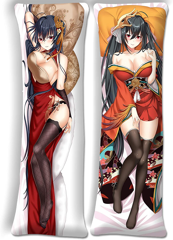 Brand Cheap Sale Venue Azur Lane Taihō Direct store Anime Body 19.6 59in Pillow Cover x
