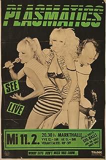 Annex Plasmatic Punk Rock Music Vintage Concert Band Poster Art Poster Print