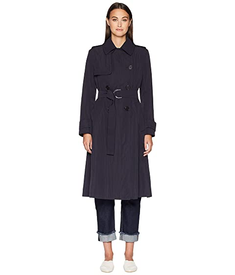 Sportmax Sesto Double Breasted Tie Waist Trench Coat
