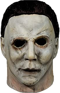 2018 Halloween Michael Myers Mask,Halloween Movie Latex Horror Scary Masks for Adult Cosplay Costume