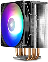DEEPCOOL GAMMAXX GT A-RGB, CPU Air Cooler, SYNC A-RGB Fan and Black Top Cover, Cable or Motherboard Control Supported, 4 H...