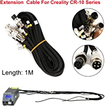 3D Printer Upgrade Parts cr10 cr10s Extension Cable kit for Creality CR-10//CR-10S Series 3D Printer Fuerdi