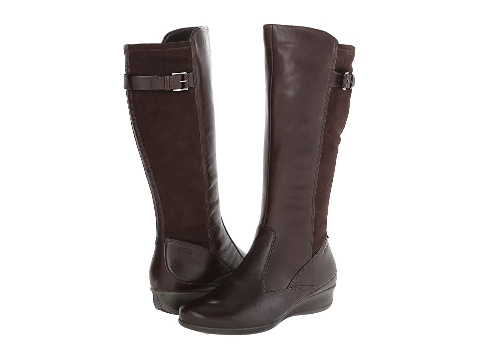 ECCO Abelone Tall Boot (Coffee/Coffee) Women