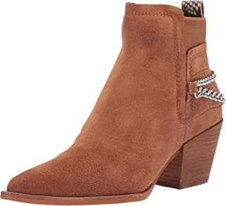 Dolce Vita Women's Ankle Bootie Boot, Brown, 8