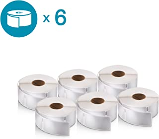 DYMO Authentic LabelWriter Return Address Labels for LabelWriter Label Printers, White, 3/4'' x 2'' (30330), 6 Rolls of 500
