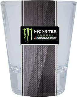 monster energy shot glass