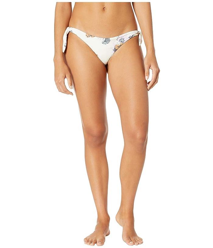 RVCA Romeo Floral Cheeky Bikini Bottoms (Creme) Women