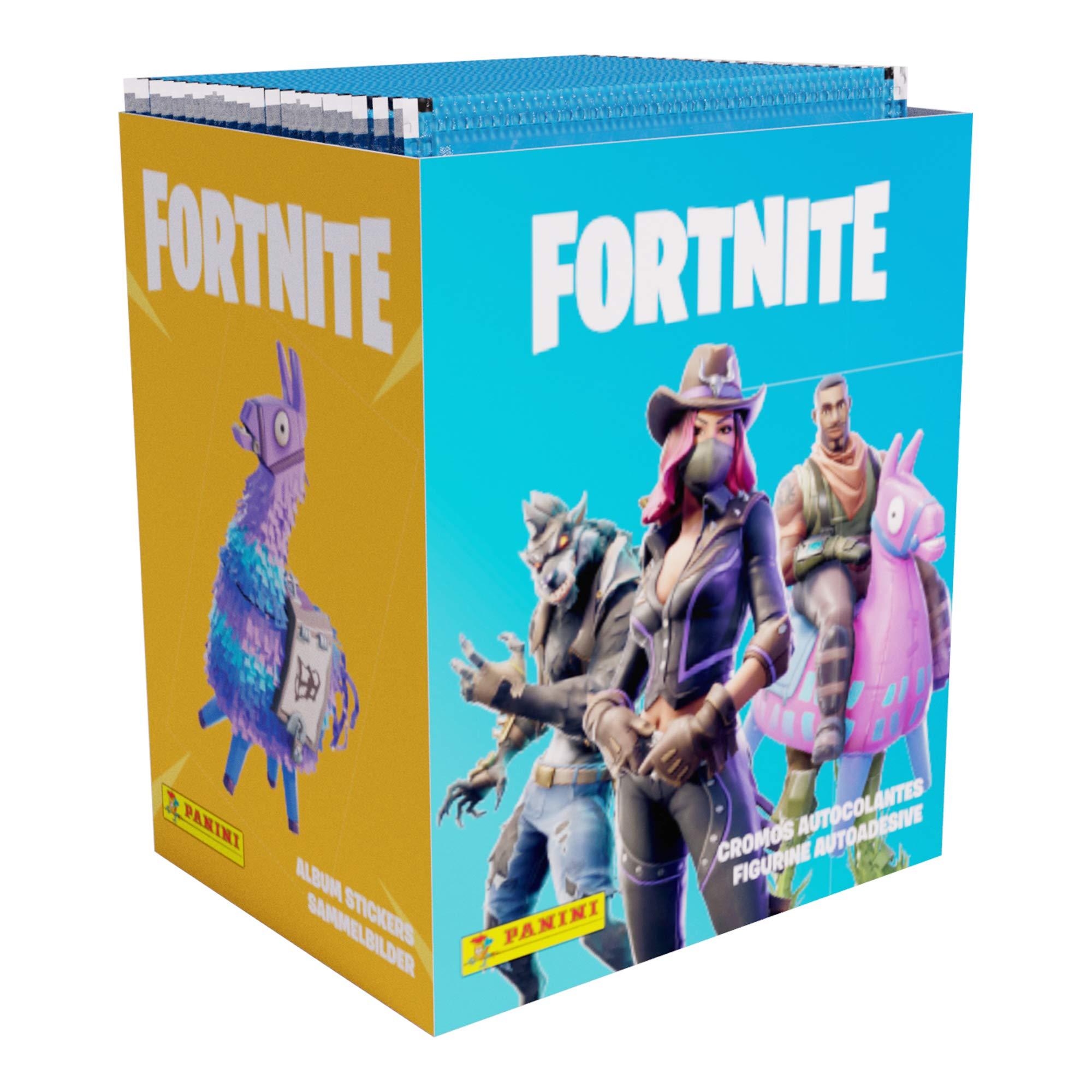 Panini SA FSTP Caja 50 Sobres Fortnite: Amazon.es: Juguetes y juegos