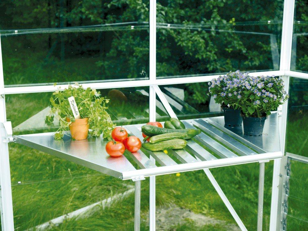 Aluminio mesa plegable para vitavia – Invernadero de Hera y luna 4500 Invernadero: Amazon.es: Jardín