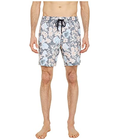 RVCA Barnes 17 Elastic Shorts (Black) Men